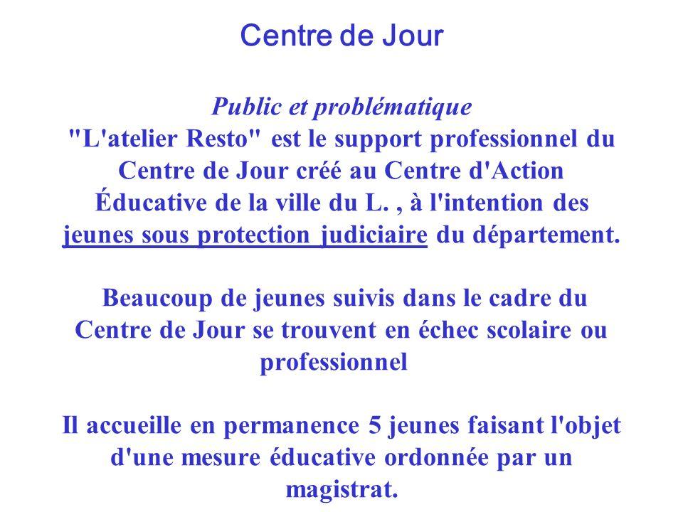 Centre de Jour Public et problématique