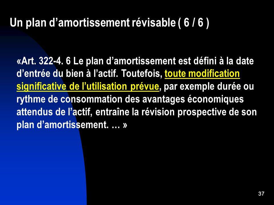 38 De nouveaux amortissements dérogatoires (1) Lassiette des amortissements Règle antérieure Lassiette représente 100 % du coût dentrée sauf exception.
