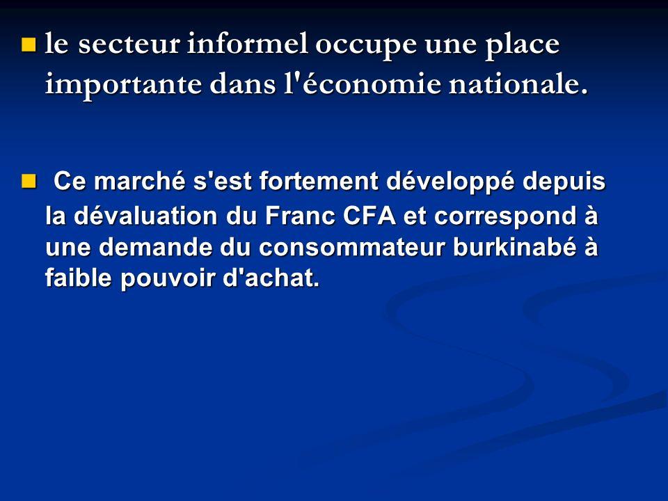 le secteur informel occupe une place importante dans l'économie nationale. le secteur informel occupe une place importante dans l'économie nationale.