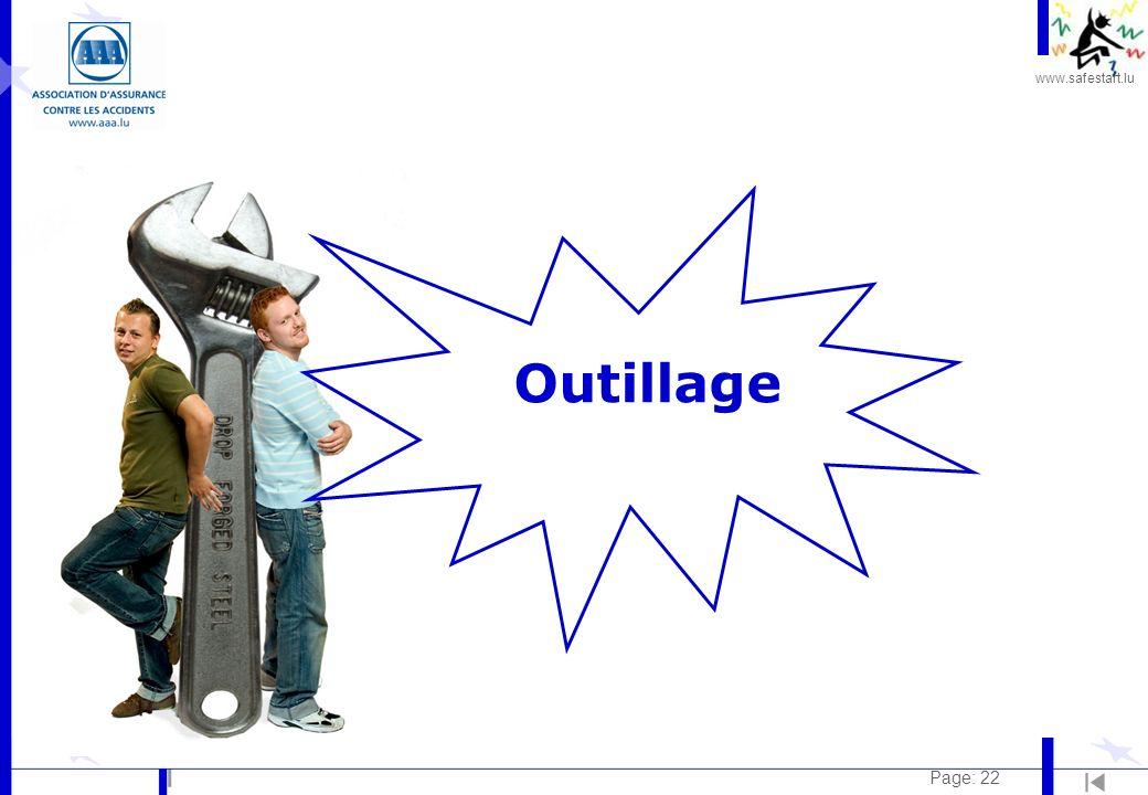 www.safestart.lu Page: 22 Outillage