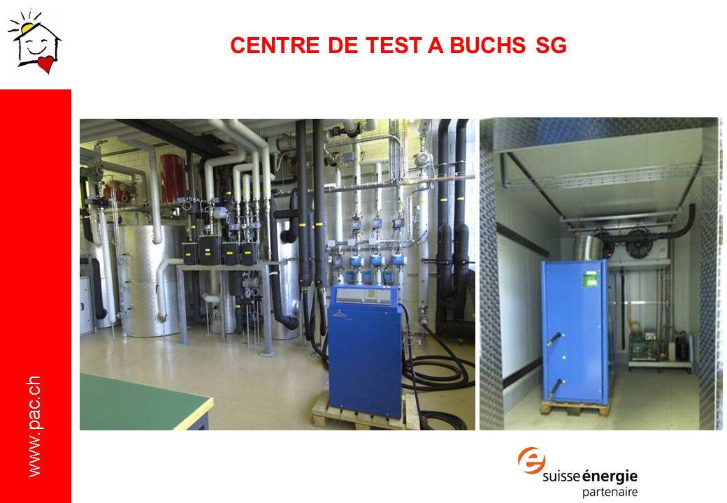 www.pac.ch CENTRE DE TEST A BUCHS SG