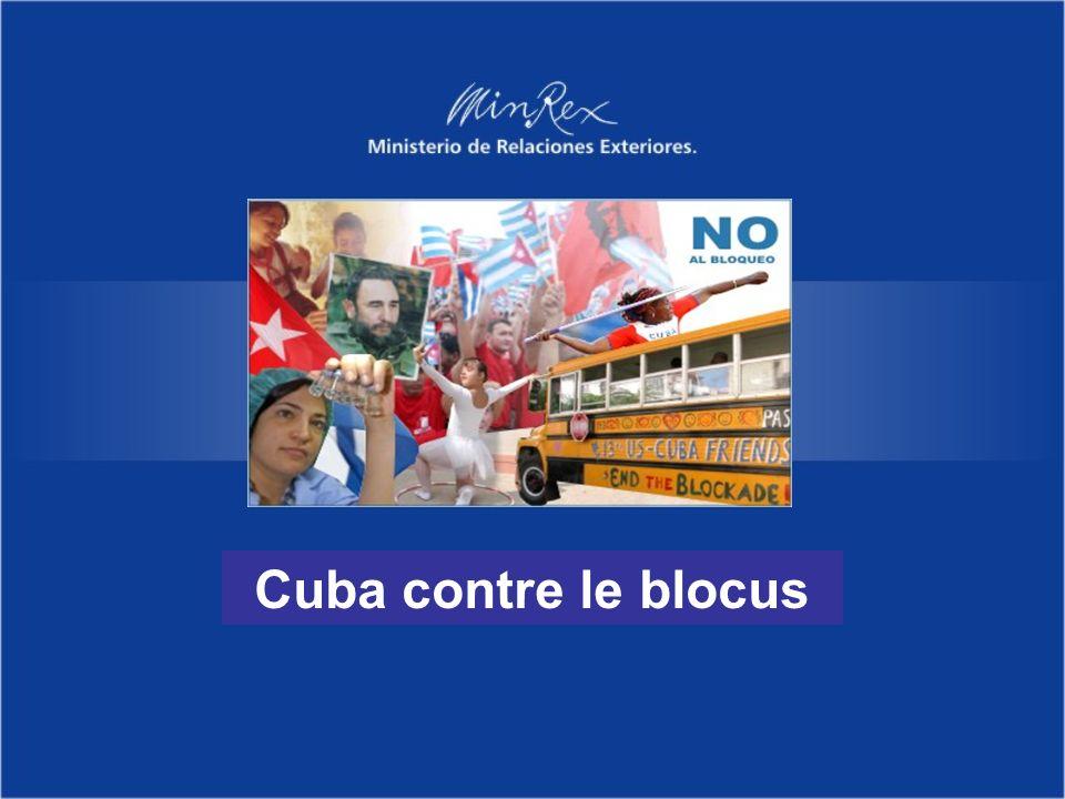 Cuba contre le blocus