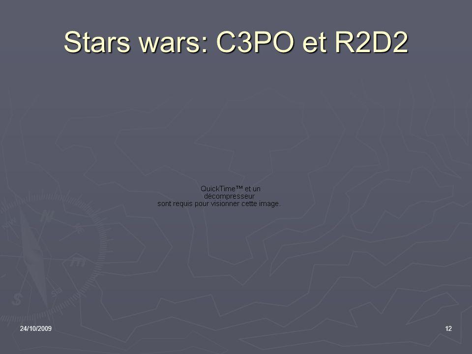 24/10/200912 Stars wars: C3PO et R2D2