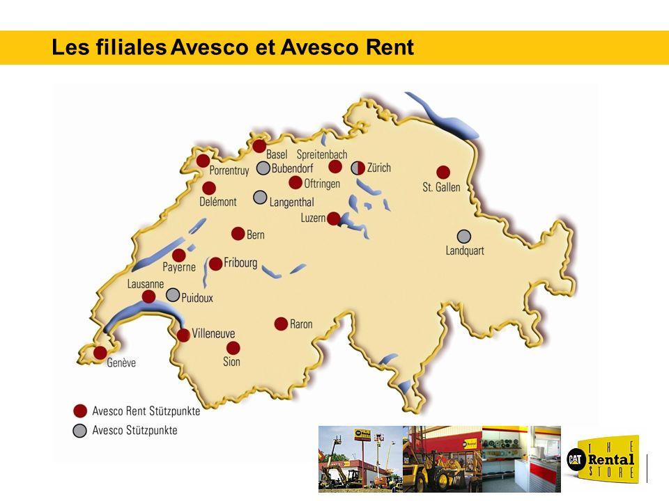 Les filiales Avesco et Avesco Rent