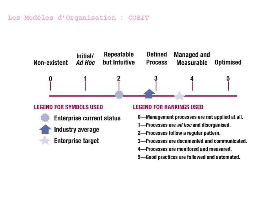 Les Modèles dOrganisation : CMM