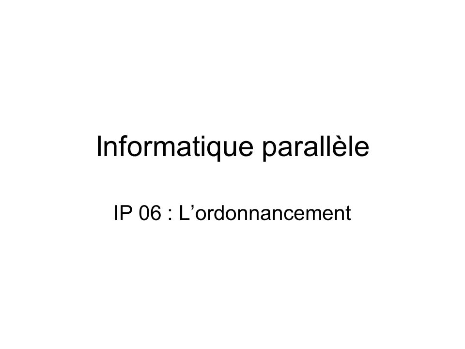 Description formelle