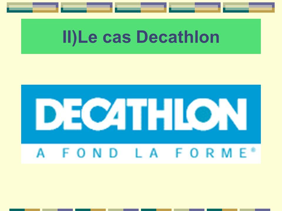 II)Le cas Decathlon