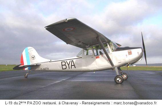 L-19 du 2 ème PA ZOO restauré, à Chavenay - Renseignements : marc.bonas@wanadoo.fr