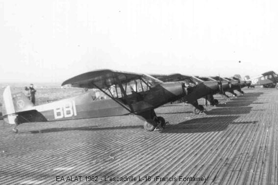 EA ALAT 1962 - Lescadrille L-18 (Francis Fontaine)
