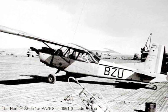 Les installations du 3ème PAZES à Touggourt début 1962 (Schaudler)