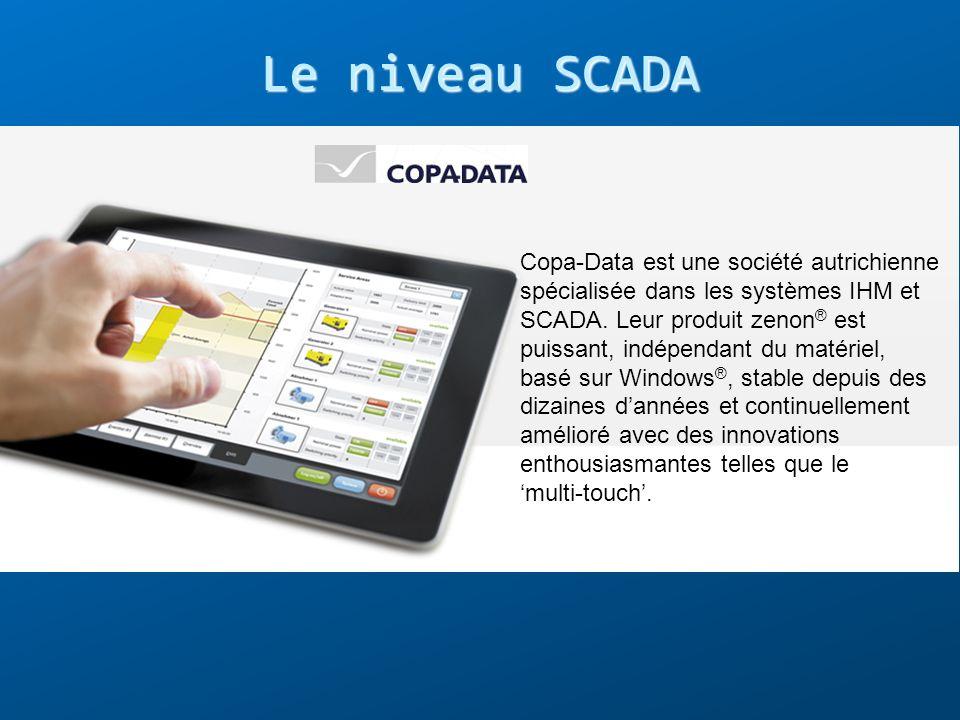 Copa-Data est une société autrichienne spécialisée dans les systèmes IHM et SCADA. Leur produit zenon ® est puissant, indépendant du matériel, basé su