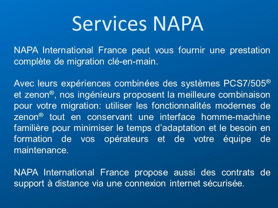 Services NAPA NAPA International France peut vous fournir une prestation complète de migration clé-en-main. Avec leurs expériences combinées des systè