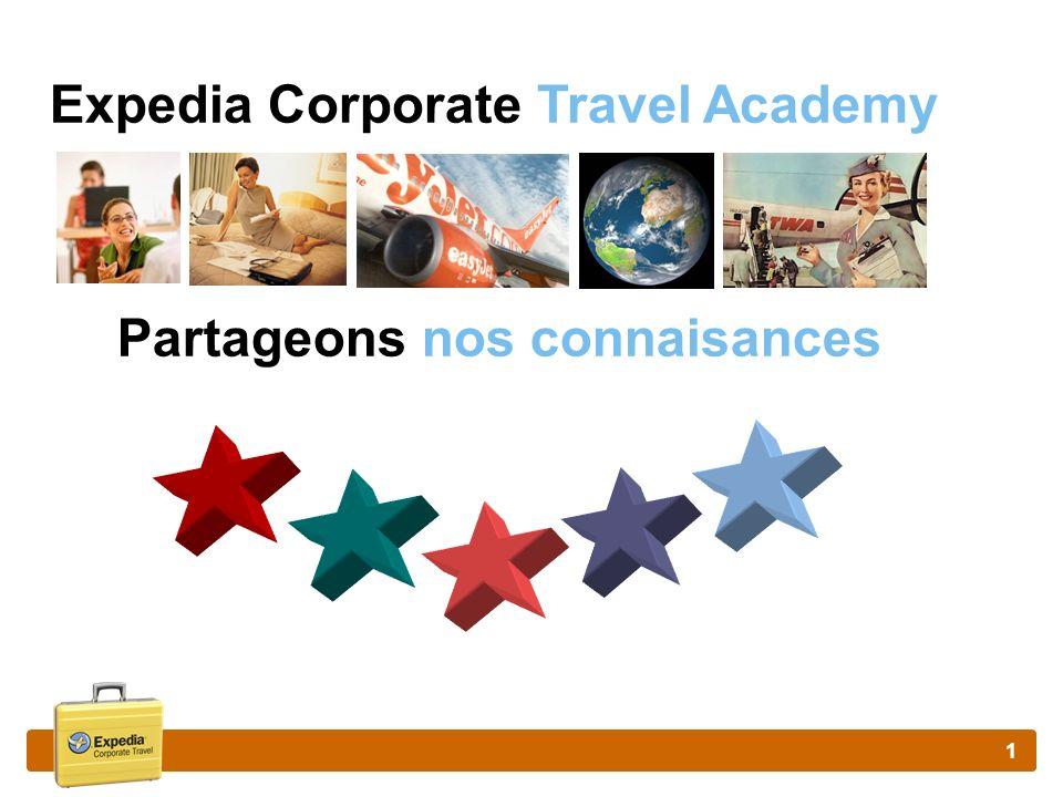 1 Expedia Corporate Travel Academy Partageons nos connaisances