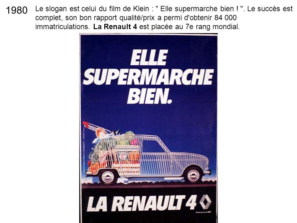 Le slogan est celui du film de Klein :