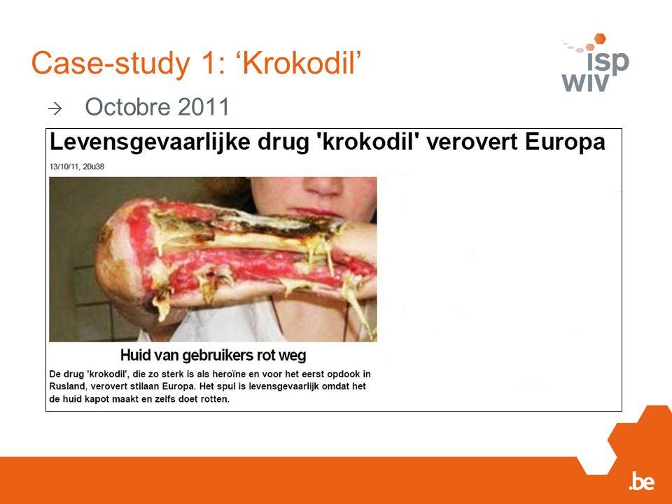Case-study 1: Krokodil Octobre 2011