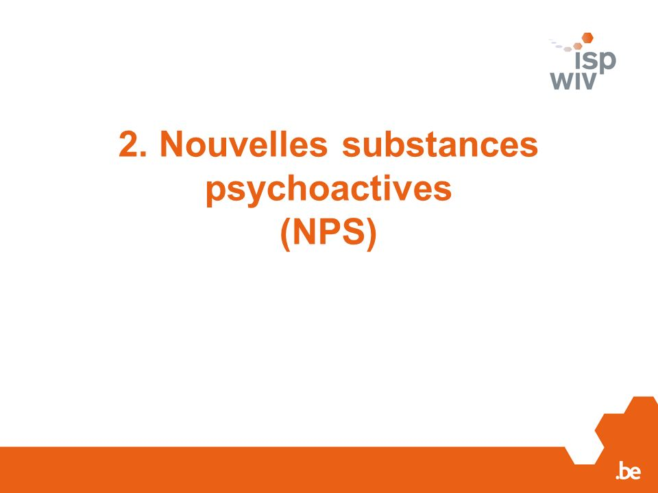 4. Early Warning System Drugs en Belgique