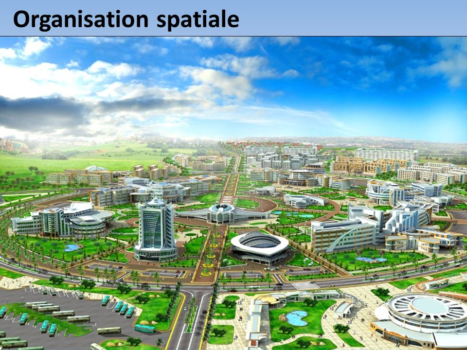 La mise en œuvre du concept repose sur la démarche et lorganisation spatiale suivante : 1 er niveau 1 ère couronne : autour de laire métropolitaine algéroise (wilayate dAlger, Tipaza, Boumerdès et Blida).
