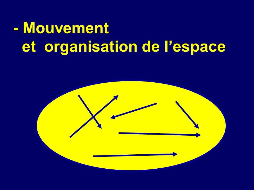 1. LORGANISATION DE LESPACE