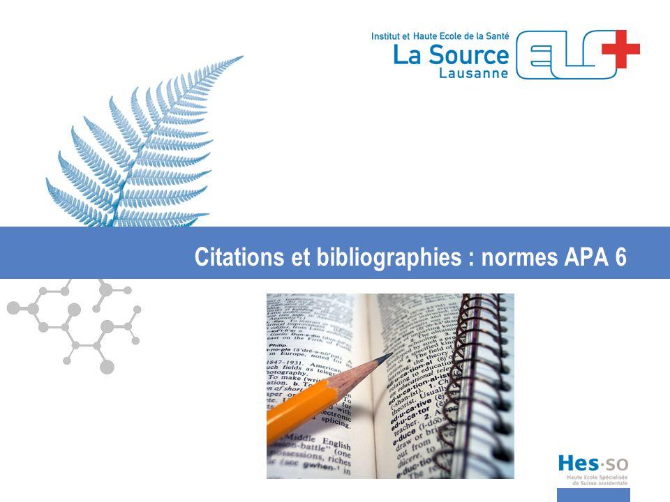3.Bibliographie Article de revue (format papier) Exemple pour un article: Vasseur, P.