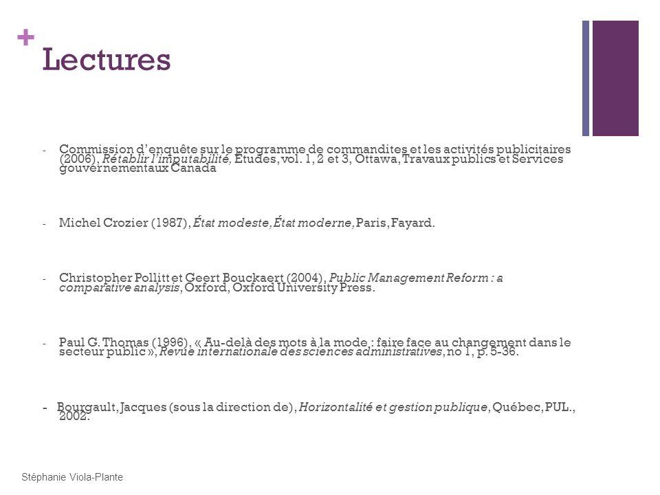 + Lectures - Commission denquête sur le programme de commandites et les activités publicitaires (2006), Rétablir limputabilité, Études, vol. 1, 2 et 3