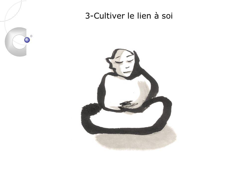 3-Cultiver le lien à soi