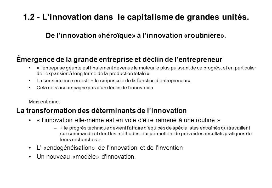 Economie de l innovation - Chapitre I - O.Weinstein - 2005 Marché potentiel.