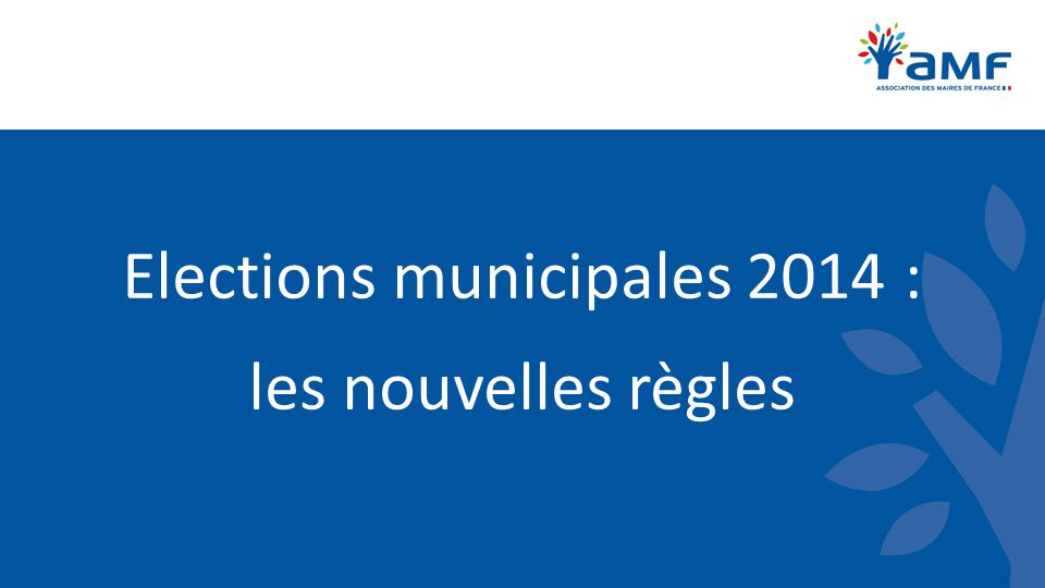 Elections municipales Communes de moins de 1 000 habitants Possibilité de présenter des candidatures isolées ou groupées Possibilité de présenter des listes complètes, incomplètes ou « ouvertes » Lélecteur peut donc continuer à rayer les noms dune liste et en ajouter, comme précédemment.