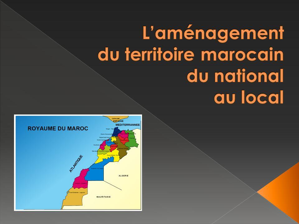 AVANT LE PROTECTORAT contrôle par pouvoir central PENDANT LE PROTECTORAT contrôle par pouvoir central (développée/marges) AUJOURDHUI plus décentralisé Exemple : urbanisme, Rabat, une ville nouvelle.