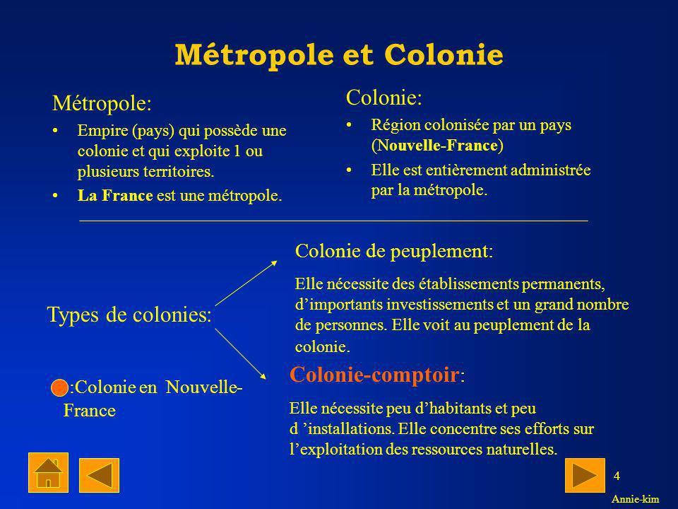3 En 1534, Jacques Cartier pris possession d un nouveau territoire en Amérique au nom de la France quon appela la Nouvelle-France.