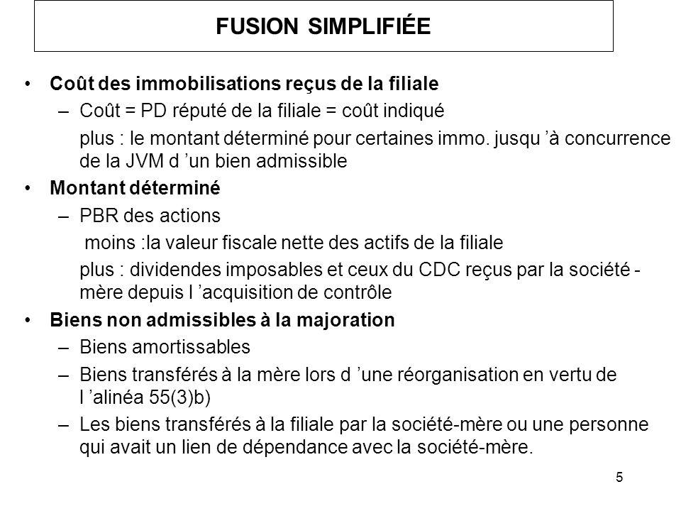 36 ACHAT / VENTE D ACTIFS Considérations générales : –Répartition du prix de la transaction; –Choix A22 - C/R.