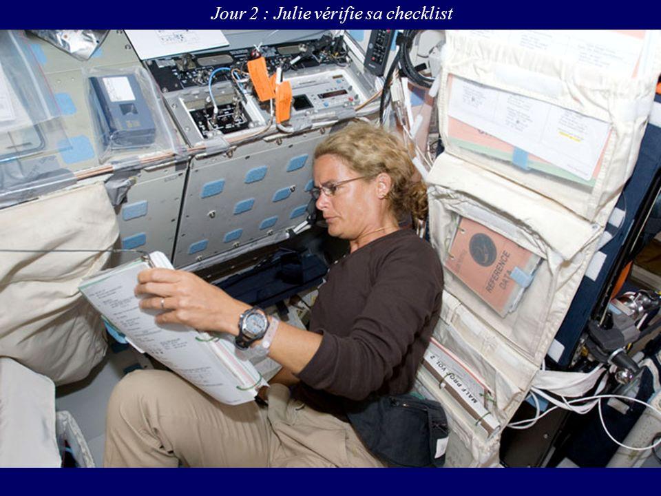 Jour 2 : Julie vérifie sa checklist