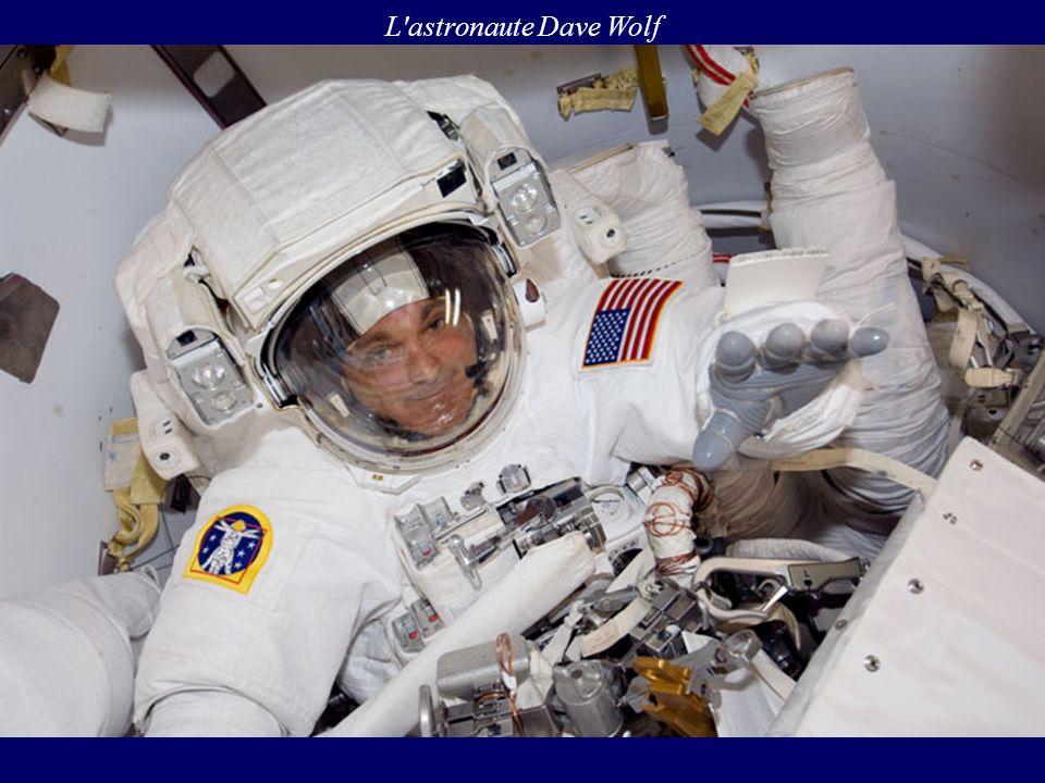 L'astronaute Dave Wolf