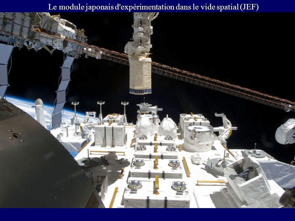 Le module japonais d'expérimentation dans le vide spatial (JEF)