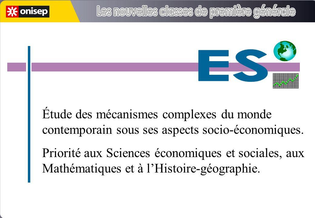 5h 3h 1h30 Étude des mécanismes complexes du monde contemporain sous ses aspects socio-économiques.