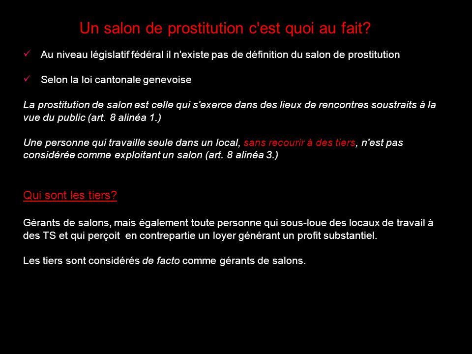Un salon de prostitution c est quoi au fait.