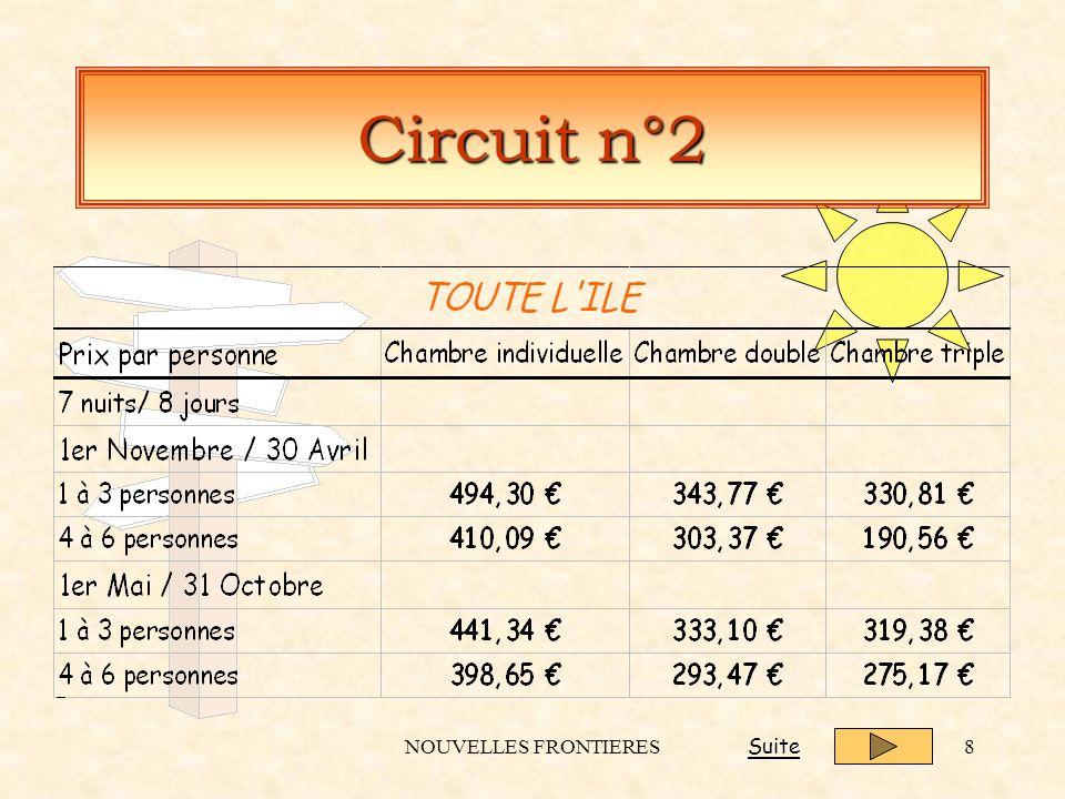 NOUVELLES FRONTIERES8 Circuit n°2 Suite