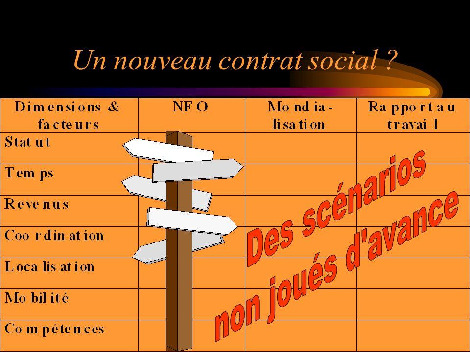 Un nouveau contrat social ?