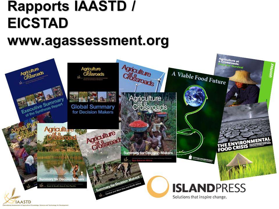 Rapports IAASTD / EICSTAD www.agassessment.org