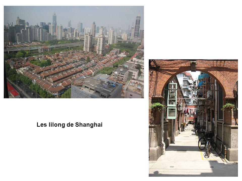 Les lilong de Shanghai