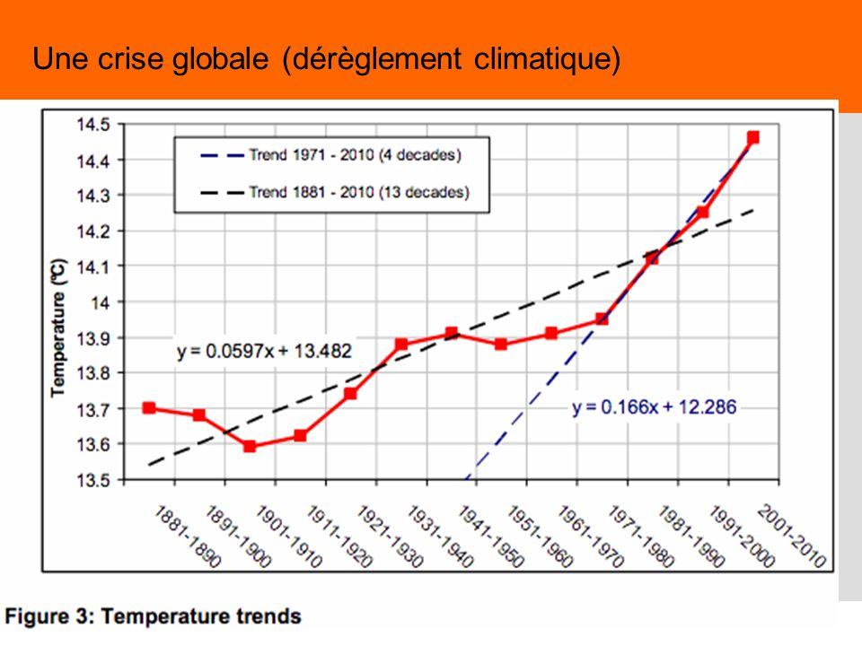 24 Une crise globale (dérèglement climatique)