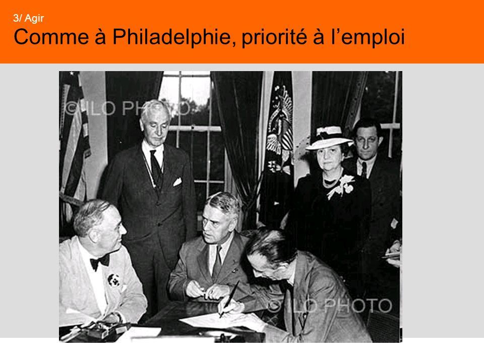 33 3/ Agir Comme à Philadelphie, priorité à lemploi