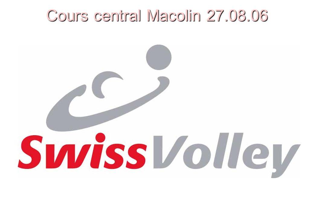 Ordre du jour n Bureau Swiss Volley n Nouvelles du CC n Swiss Volley aujourd hui / Activités n Compte de résultats / Projection 2006 n Banque de données des arbitres n Système de décompte des frais des arbitres