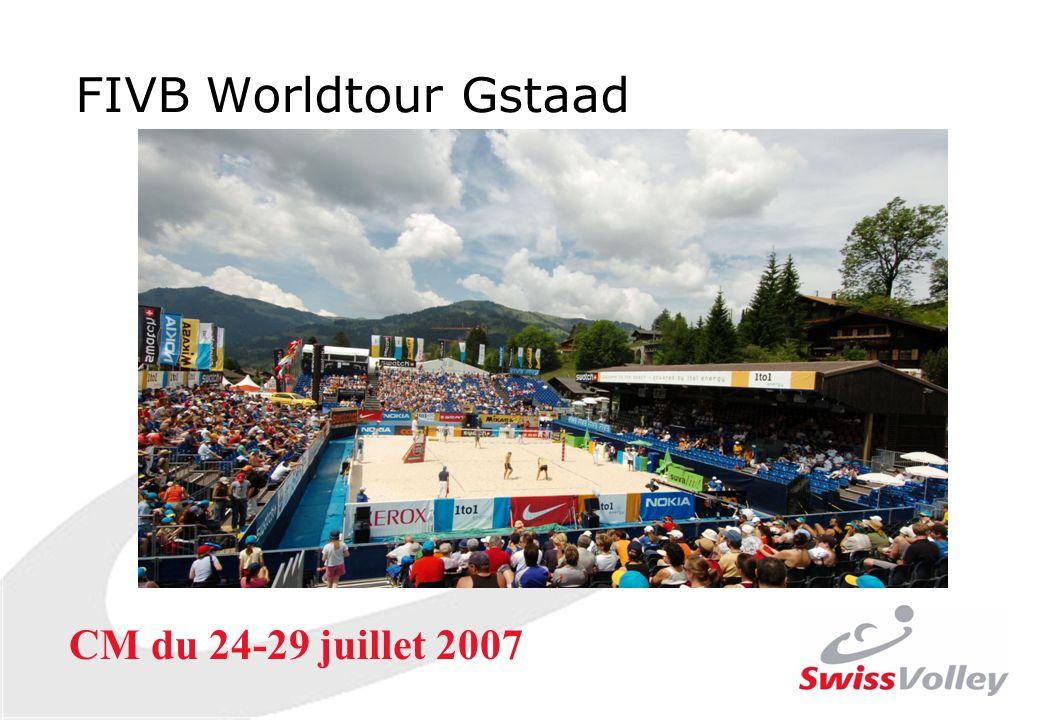FIVB Worldtour Gstaad CM du 24-29 juillet 2007