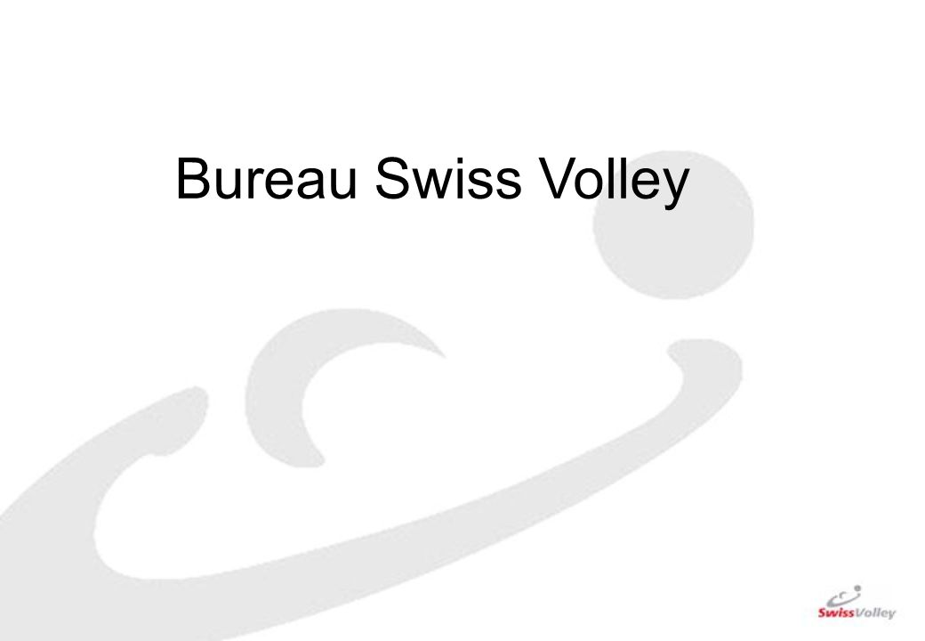 Bureau Swiss Volley