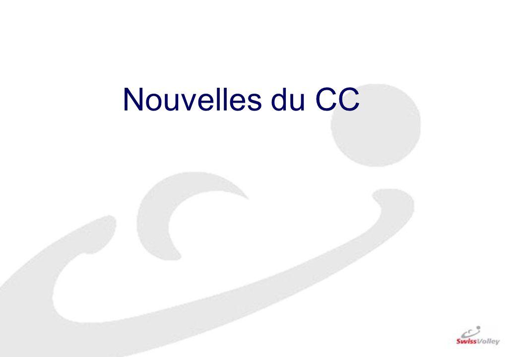 Nouvelles du CC