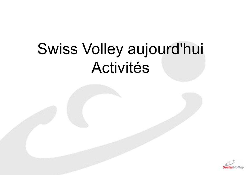Swiss Volley aujourd hui Activités
