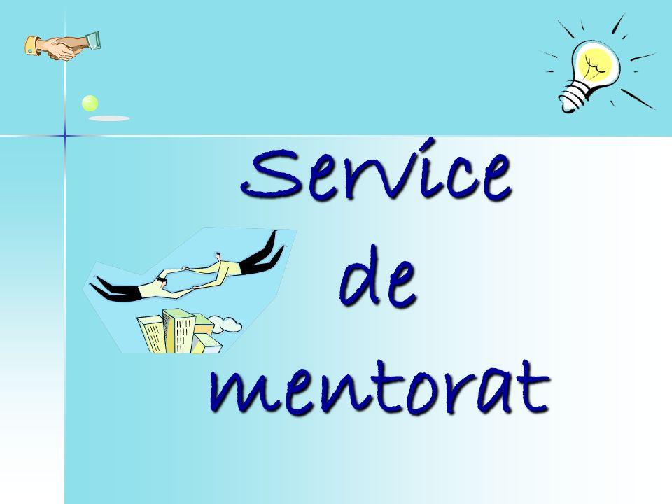 Service de mentorat