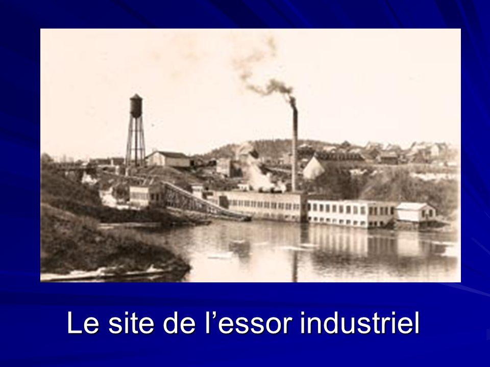 Le site de lessor industriel