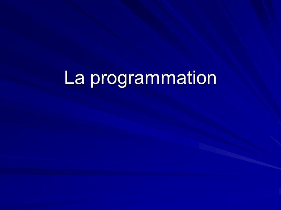 La programmation