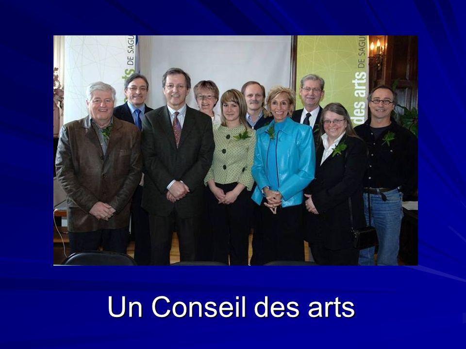 Un Conseil des arts